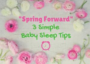 spring forward baby sleep help