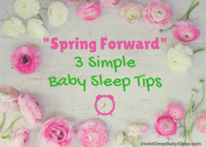 spring forward baby sleep help