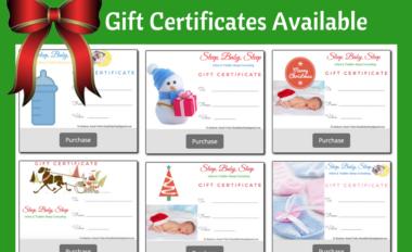 Sleep Consultant Gift Certificates