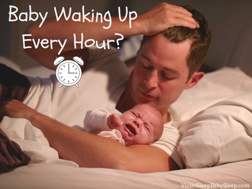 baby wakes up every hour