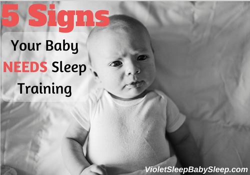 baby needs sleep training