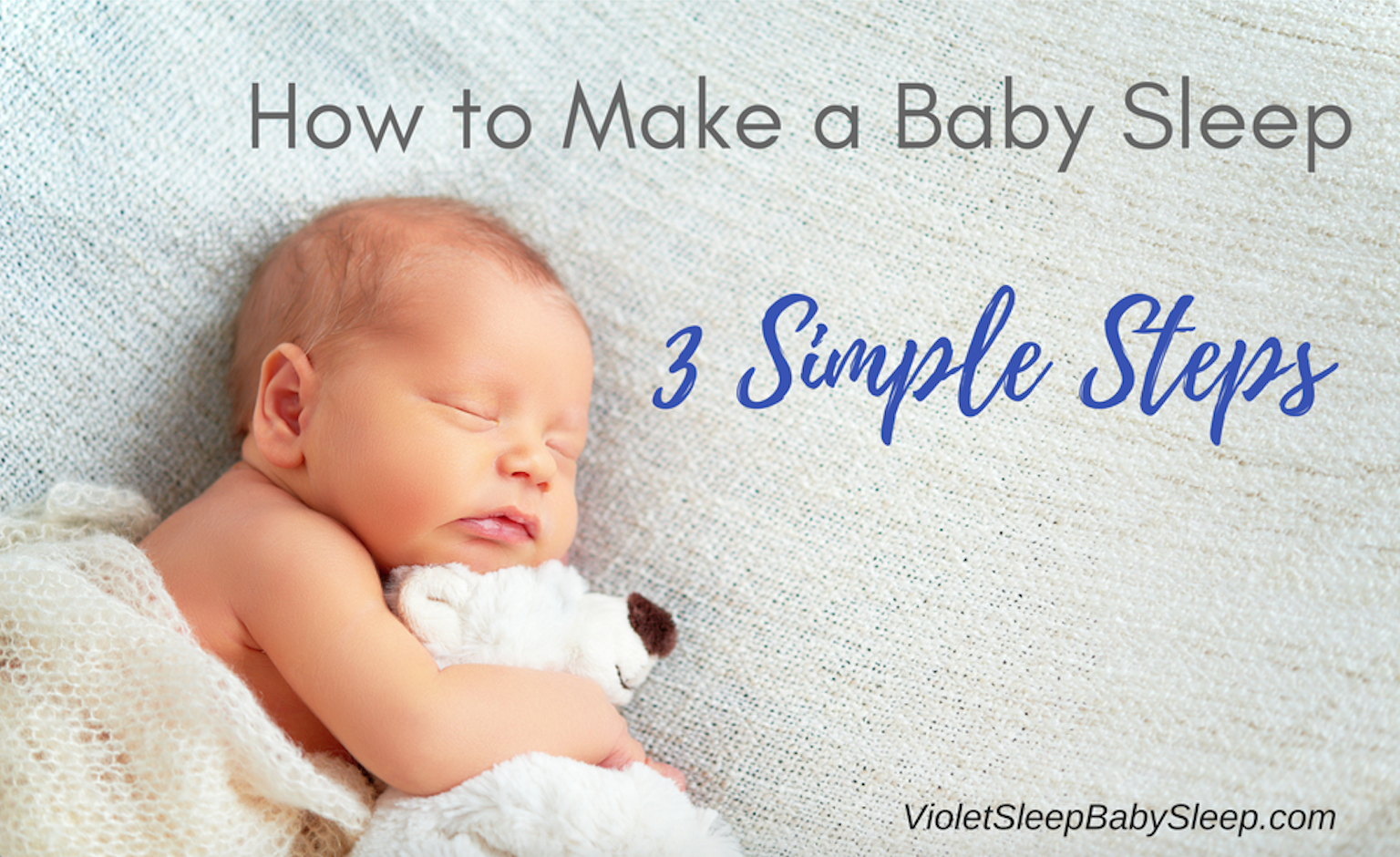 How to make a baby sleep