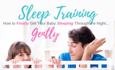 Sleep Training and Sleeping Through the Night