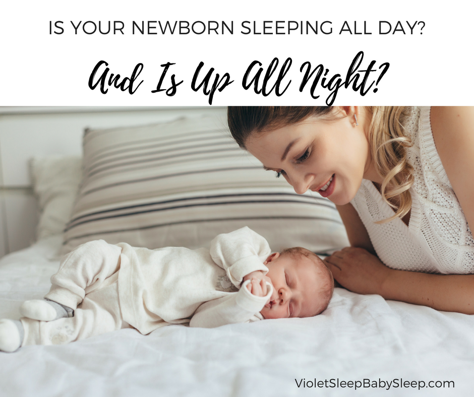 Newborn Days and Nights Mixed Up