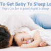 How to get baby to sleep longer
