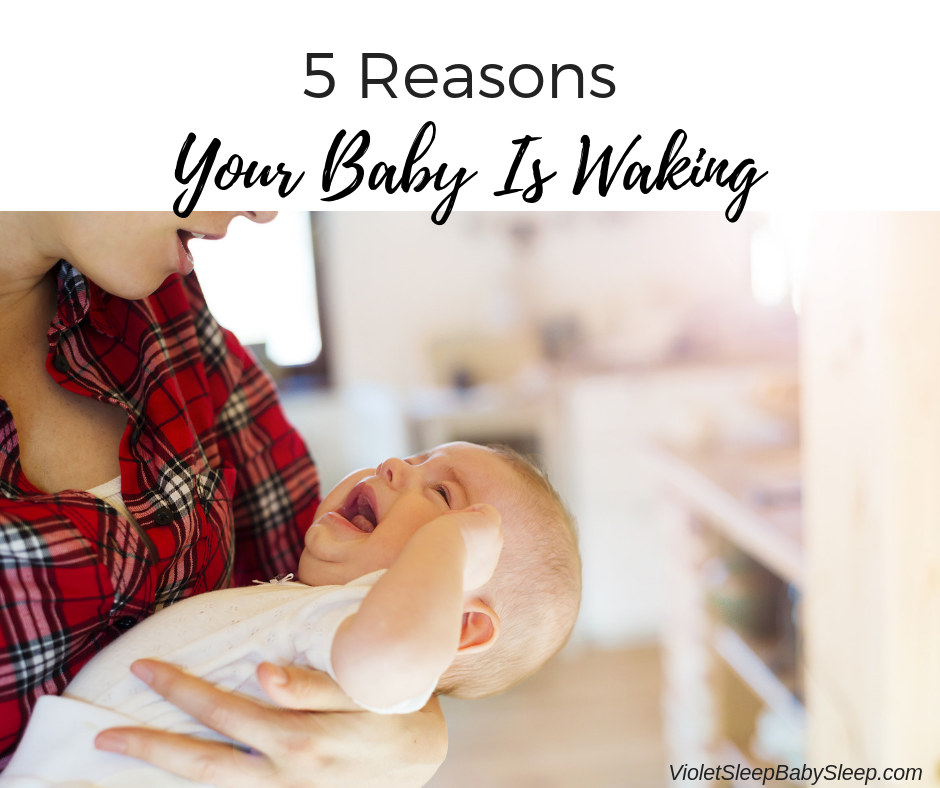 reasons your baby is waking